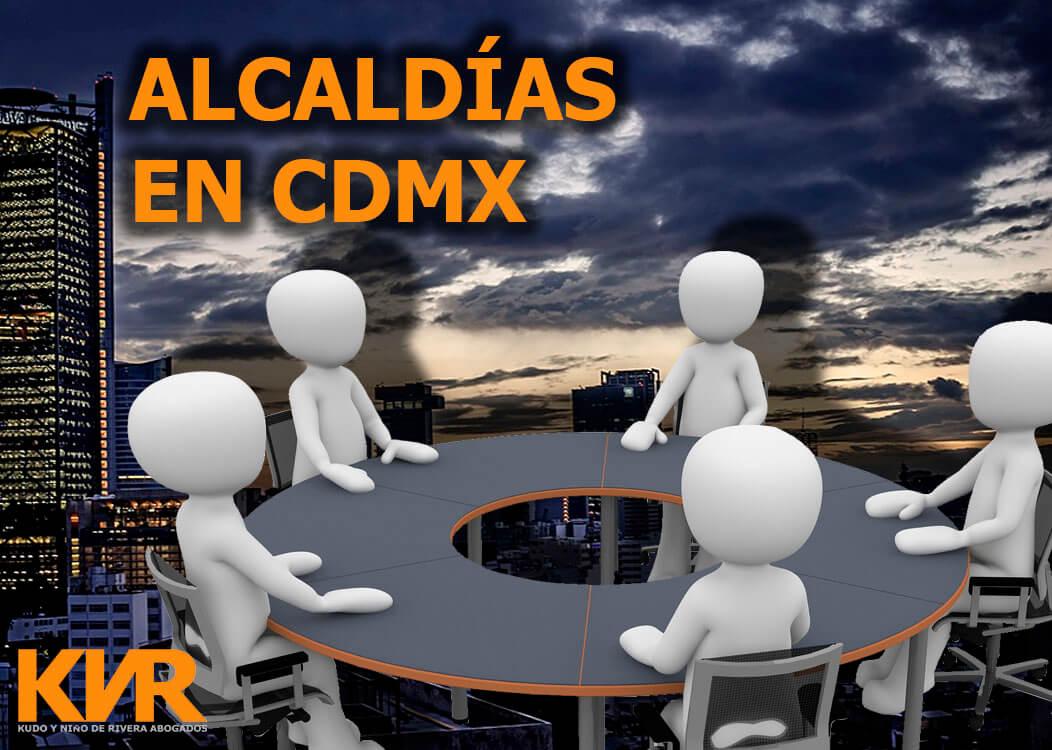 Alcaldías en CDMX